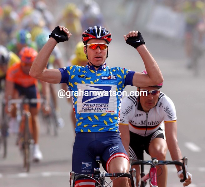 Max Van Heeswijk wins a stage of the 2004 Tour of Murcia