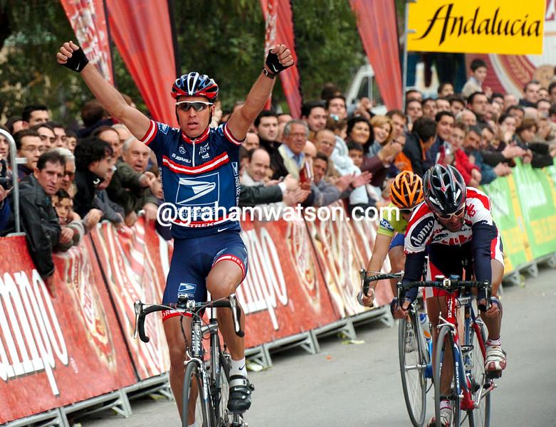 Max Van Heeswijk wins a stage of the 2004 Ruta del Sol