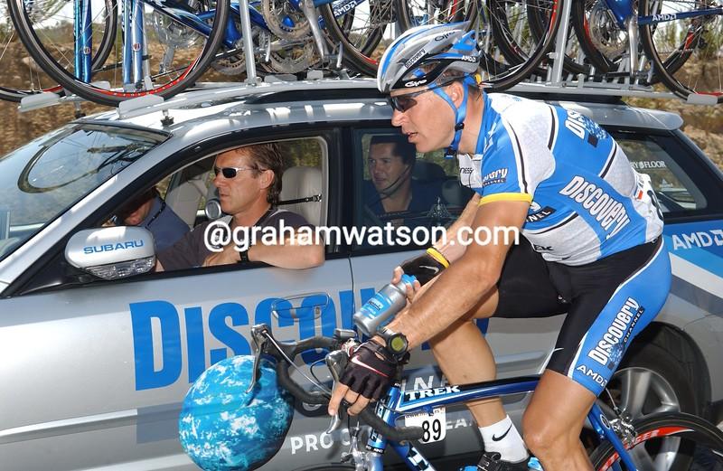 Max Van Heeswijk in the 2005 Vuelta España
