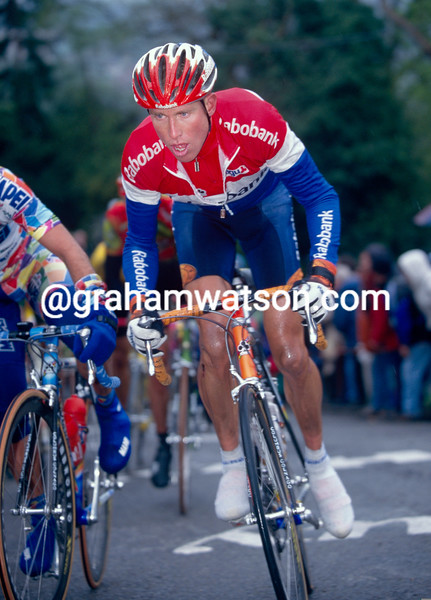 Michael Boogerd in the 1999 Amstel Gold