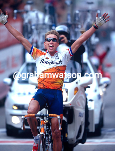 Michael Boogerd wins the 1999 Giro dell' Emilia