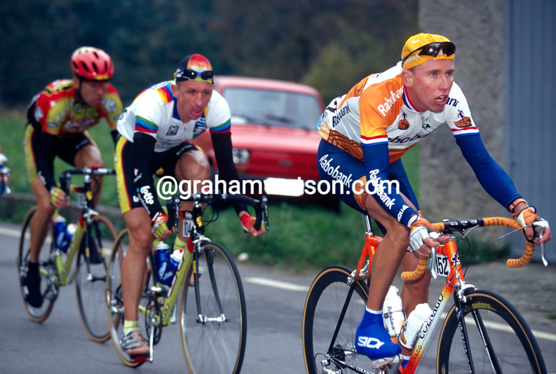Michael Boogerd in the 1994 Liege-Bastogne-Liege