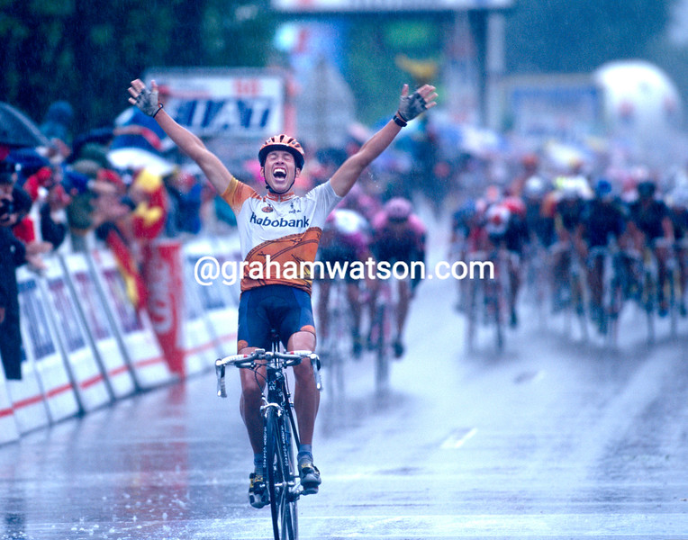Michael Boogerd wins a stage in the 1996 Tour de France
