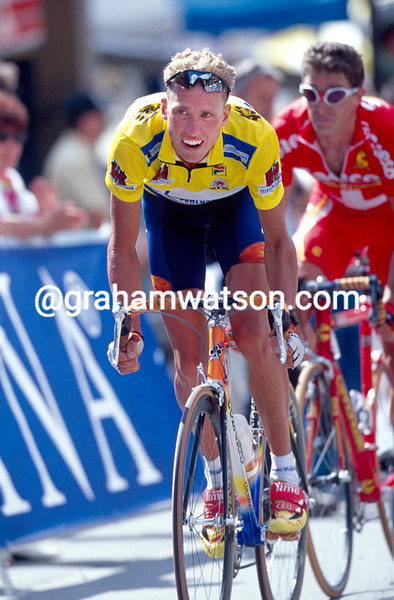 Michael Boogerd in the 2000 Tour de Suisse