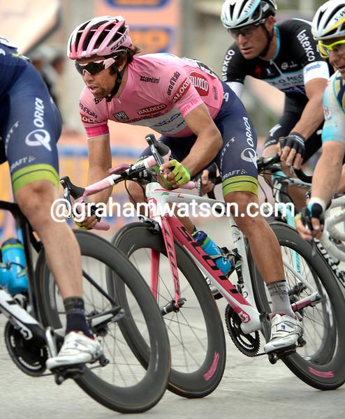 Michael Matthews on stage four of the 2014 Giro d'Italia