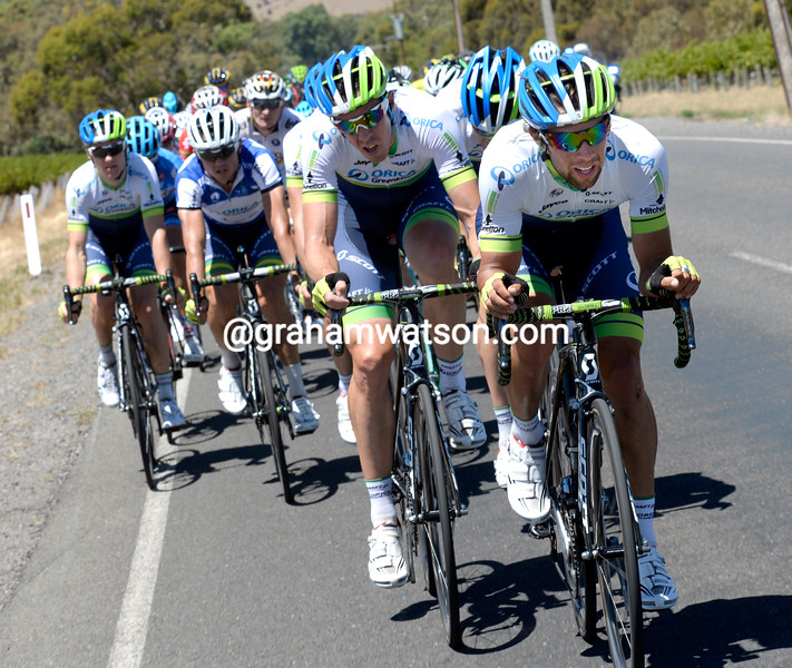 Michael Matthews and Orica-Green Edge in the 2014 Tour Down Under