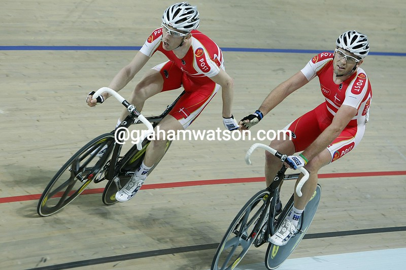 Rasmussen and Morkov win IN THE MADISON COMPETITION