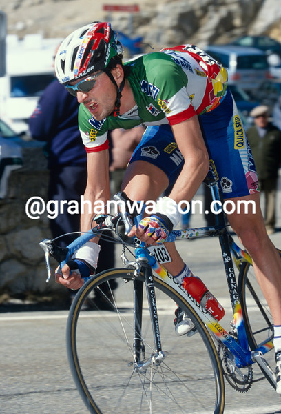 Michele Bartoli in the 1993 Paris-Nice