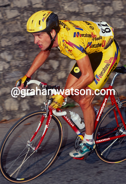 Michele Bartoli in the 1997 Giro di Lombardia