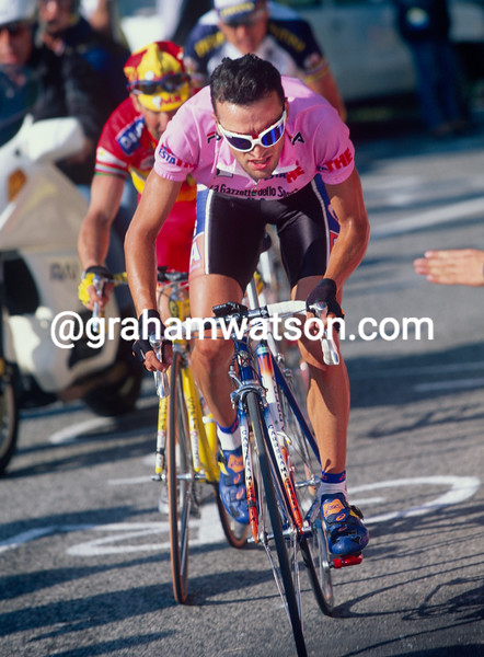 Michele Bartoli in the 1998 Giro d'Italia