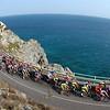 The 2016 Milan San Remo follows the via Aurelia road near Sestri Levante