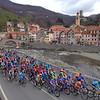 The 2007 Milan San Remo passes through Campo Ligure on the Turchino Pass