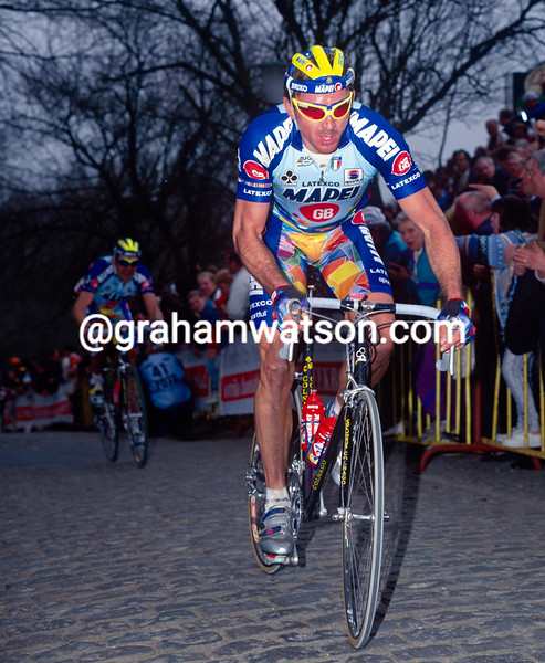 Johan Museeuw in the 1996 Ghent-Wevelgem