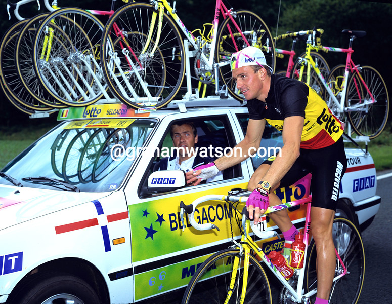 Johan Museeuw in the 1993 Tour de France