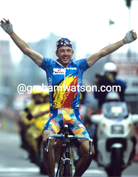 JOHAN MUSEEUW WNS THE 1996 WORLD CHAMPIONSHIPS