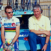 Johan Museeuw and Patrick Lefevre in the 1997 Tour de France