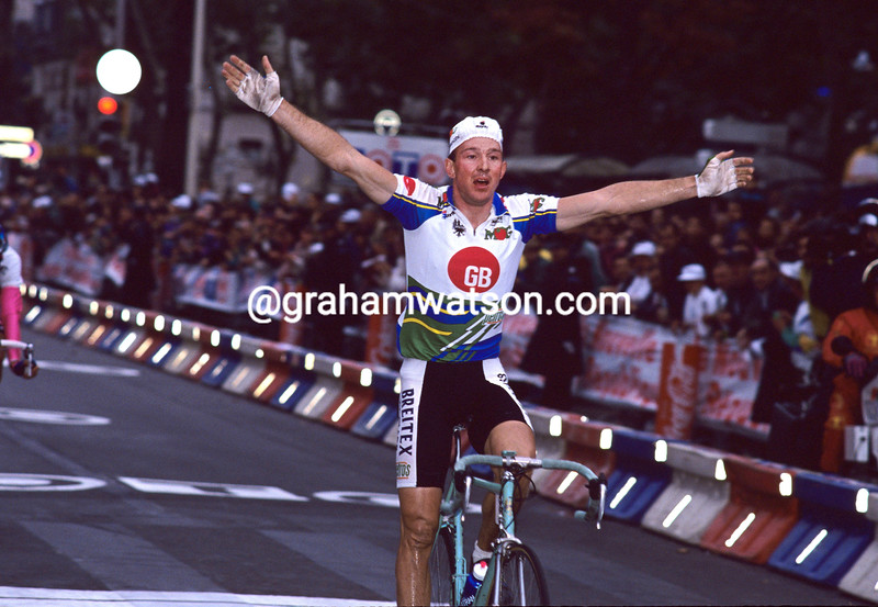 Johan Museeuw in the 1992 Paris-Tours