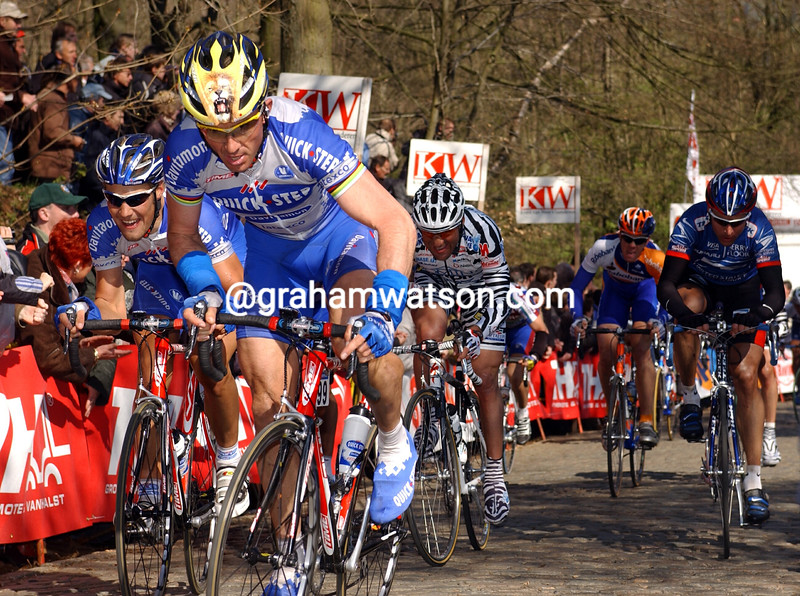 Johan Museeuw in the 2003 Ghent-Wevelgem