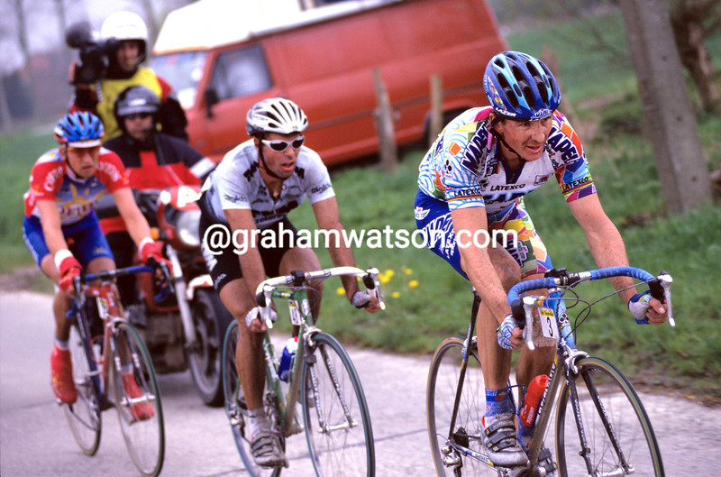 Johan Museeuw in the 2003 Tour of Flanders
