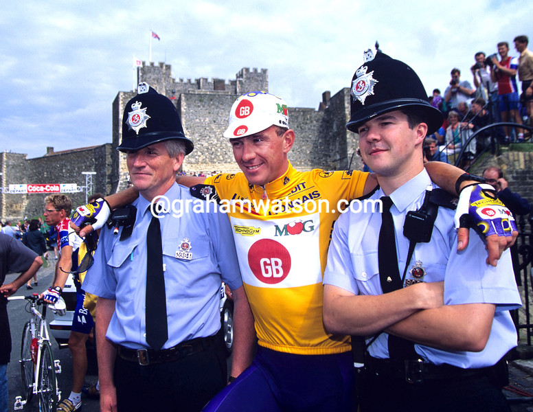 Johan Museeuw in the 1994 Tour de France