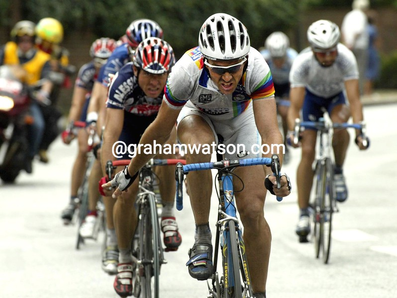 Johan Museeuw in the 2002 HEW Cyclassics