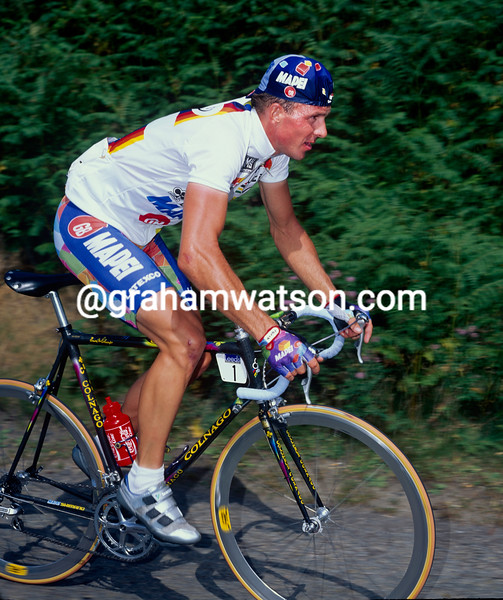 Johan Museeuw in the 1997 Leeds Classic