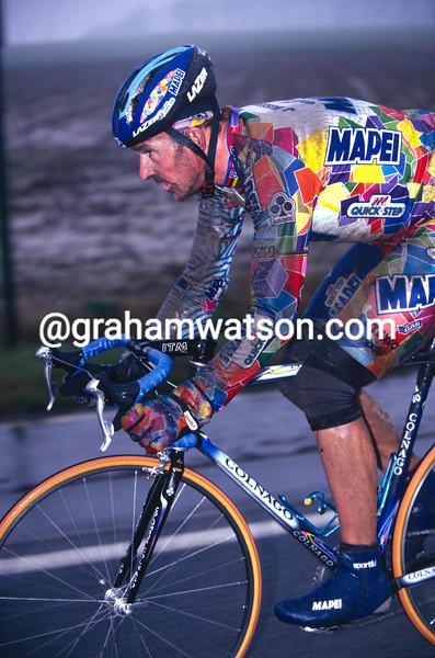 Johan Museeuw in the 2000 Omloop Het Volk