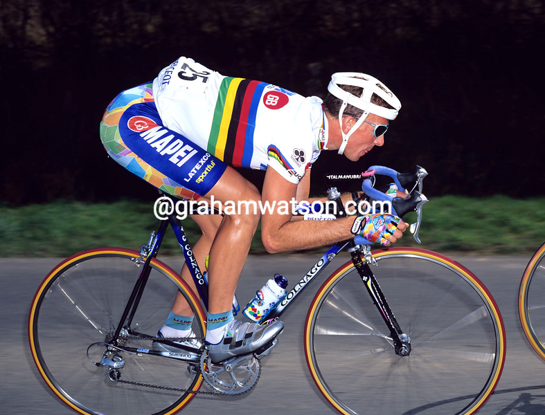 Johan Museeuw in the 1996 Giro di Lombardia