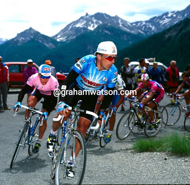 Moreno Argentin in the 1994 Giro d'Italia