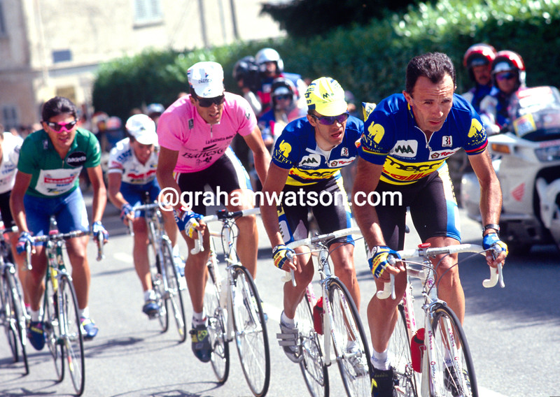 Moreno Argentin in the 1993 Giro d'Italia