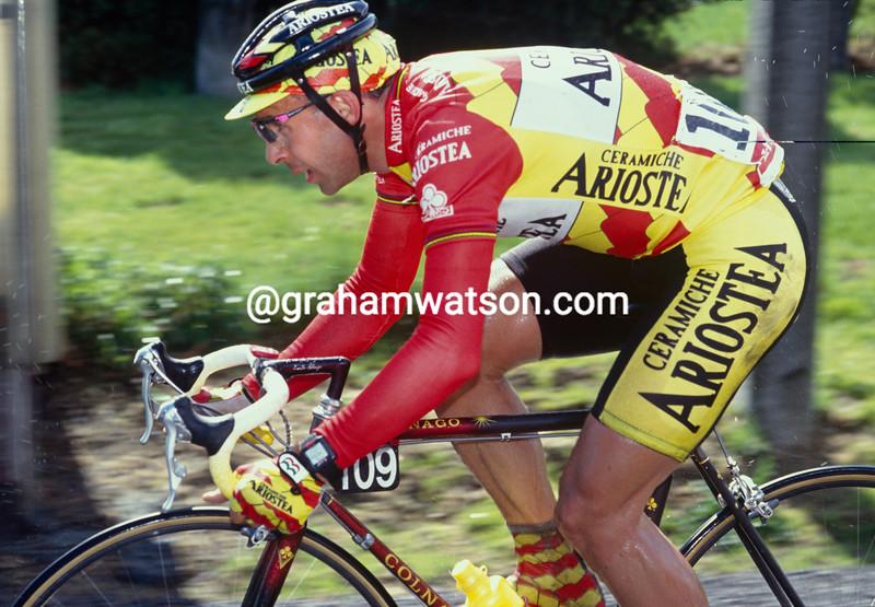 Moreno Argentin in the 1992 Fleche wallonne