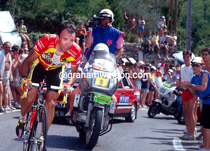 Moreno Argentin in the 1991 Tour de France