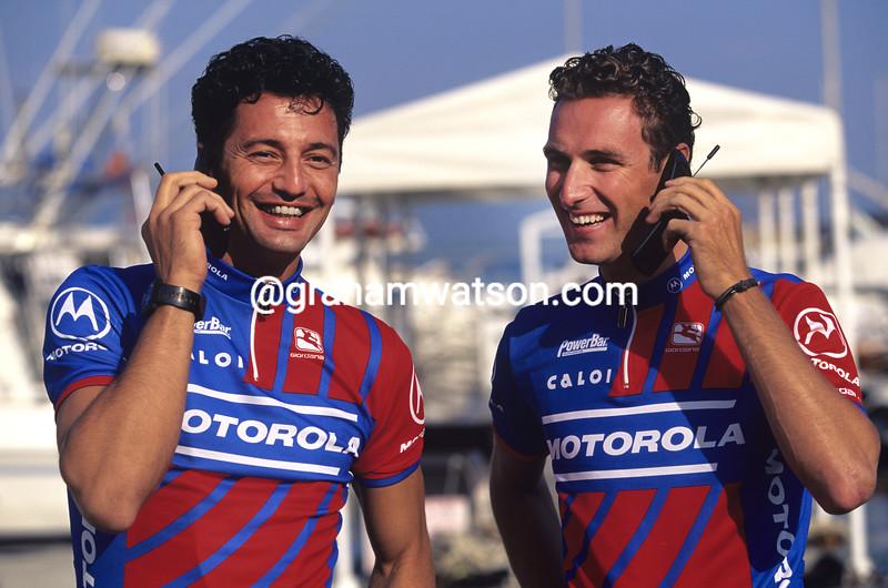 Flavio Vanzella and Max Sciandri