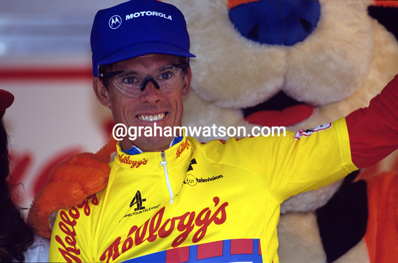 Phil Anderson wins the 1988 Kellogg's Tour