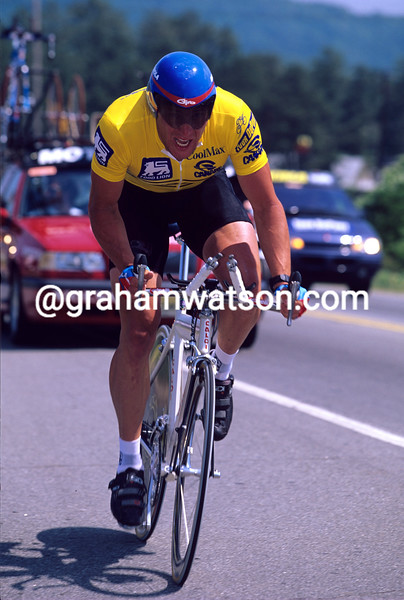 Lance Armstrong in the 1996 Tour du Pont