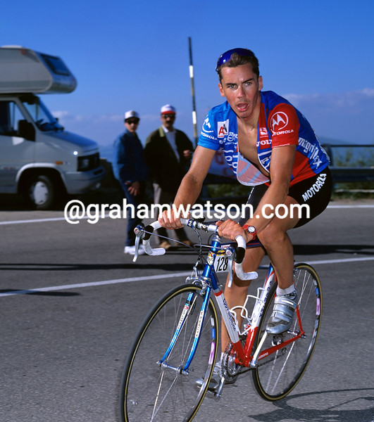 Brian Smith in the 1994 Giro d'Italia