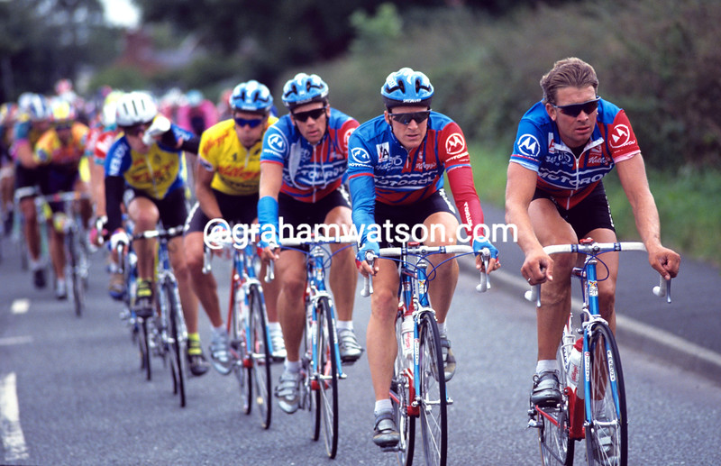 SEAN YATES IN THE 1992 KELLOGG'S TOUR OF BRITAIN