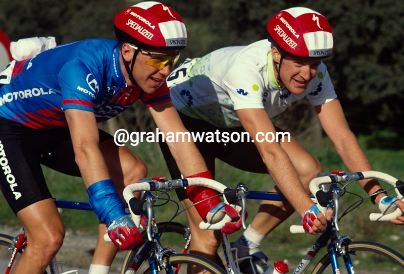 John Tomac and Andy Bishop