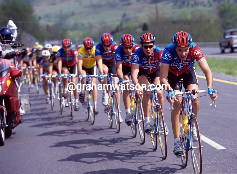 Franky Andreu in the 1996 Tour du Pont