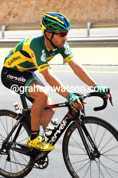 Murilo Fischer in the 2012 Tour of Oman