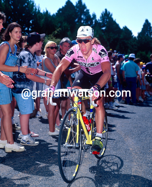 Neil Stephens in the 1995 Tour de France