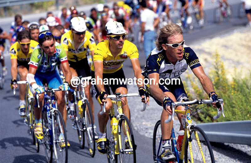 Neil Stephens in the 1997 Tour of Spain