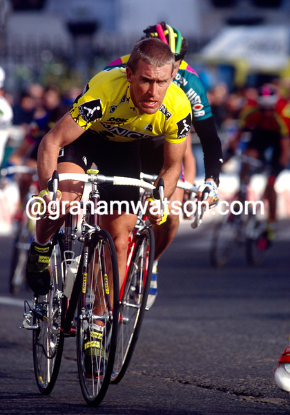 Neil Stephens in the 2001 Tour of Spain