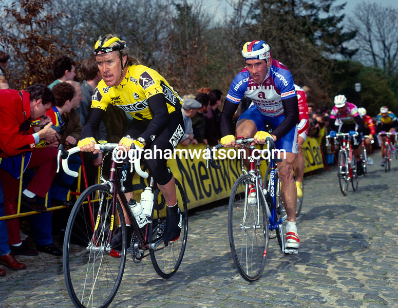 Neil Stephens in the 1995 Tour of Flanders