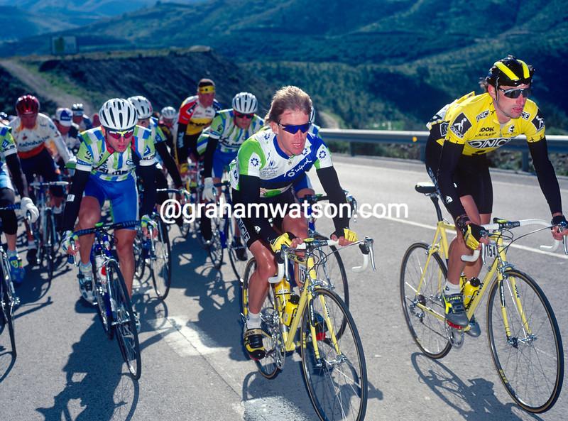 Neil Stephens in the 1996 Ruta del Sol