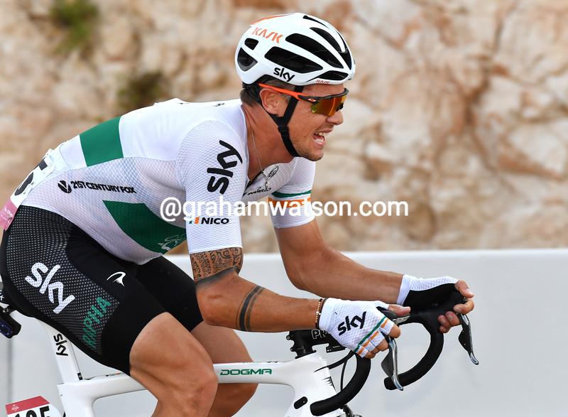 Nicholas Roche on the 2016 Abu Dhabi Tour