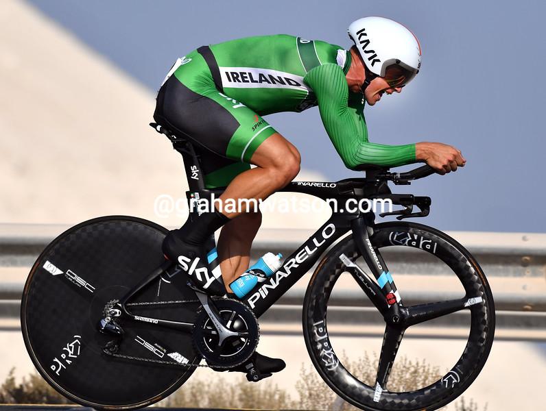 Nicholas Roche in the 2016 World TT Championships