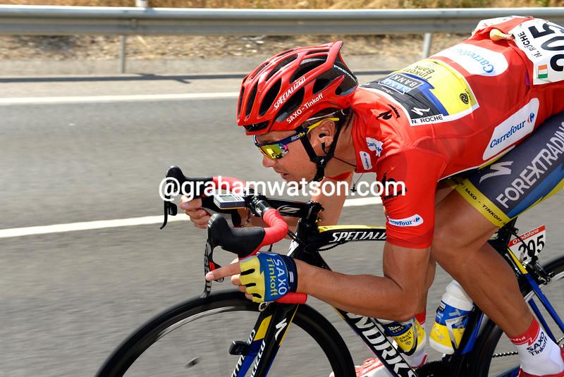 Nicholas Roche in the 2013 Tour of Spain