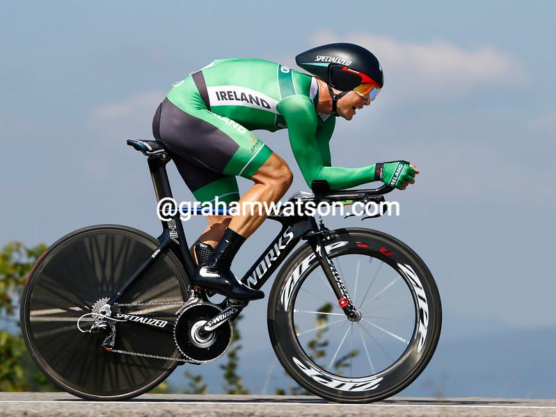 Nicholas Roche at the 2014 World Road Championships