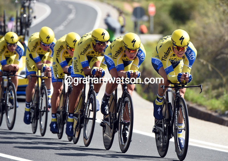 Nicholas Roche leads Tinkoff-Saxo at the 2014 World Championships